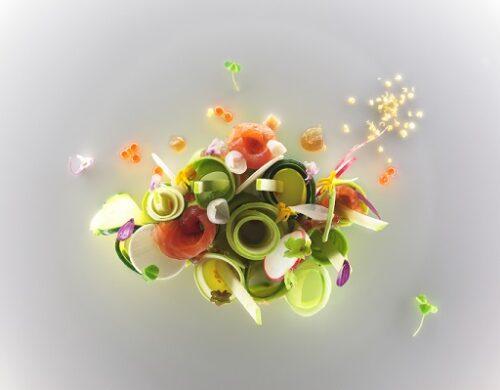 L'insalata di trota di Stefano Baiocco